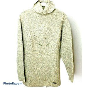 Giesswein Women Sweater Beige Pull Over Flower 38